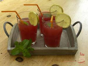 Cranberry Orangen Cocktail